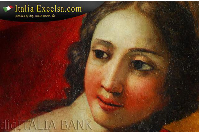 foto donna affresco digItalia Bank.it