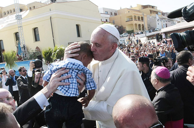 papa francesco lampedusa vaticnaese.it