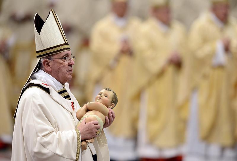 Papa Francesco in San Pietro - Natale 2016