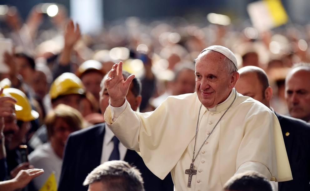 papa francesco genova