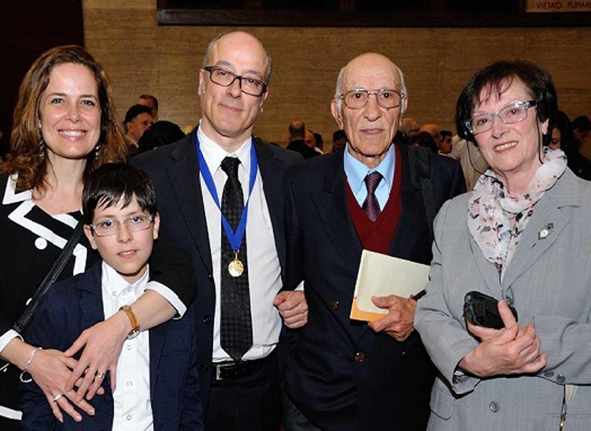 Paolo Pezzato Premio Internazionale Medaglia d'oro Maison des Artistes 2015