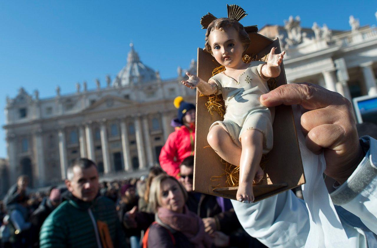 Benedizione dei Bambinelli all'Angelus