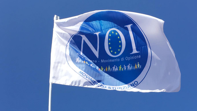 La Bandiera del Movimento NOI - Rete Umana