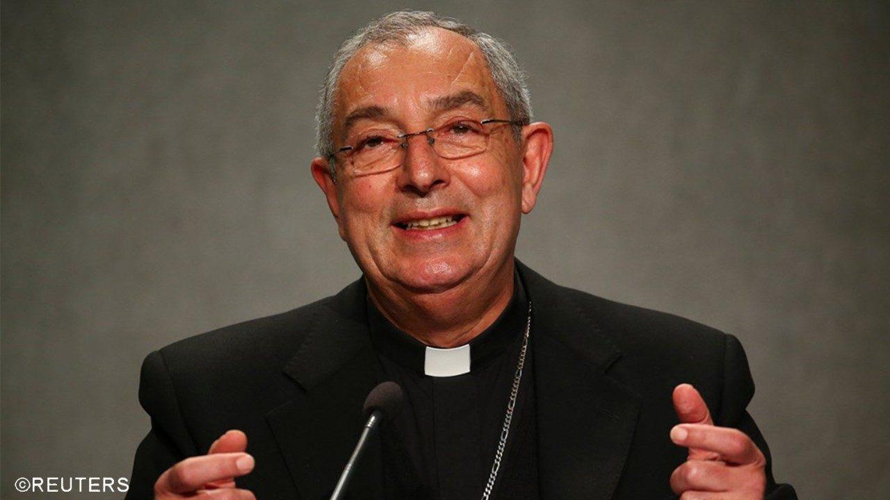 Il cardinale Angelo De Donatis, Vicario Generale di Sua Santità per la Diocesi di Roma