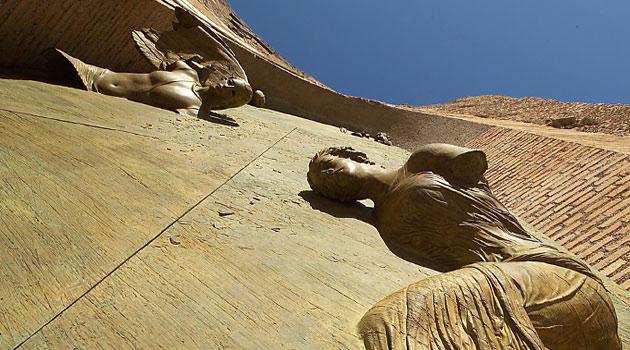 igor mitoraj - renzo giuliano fabio gallo santa maria degli angeli - roma