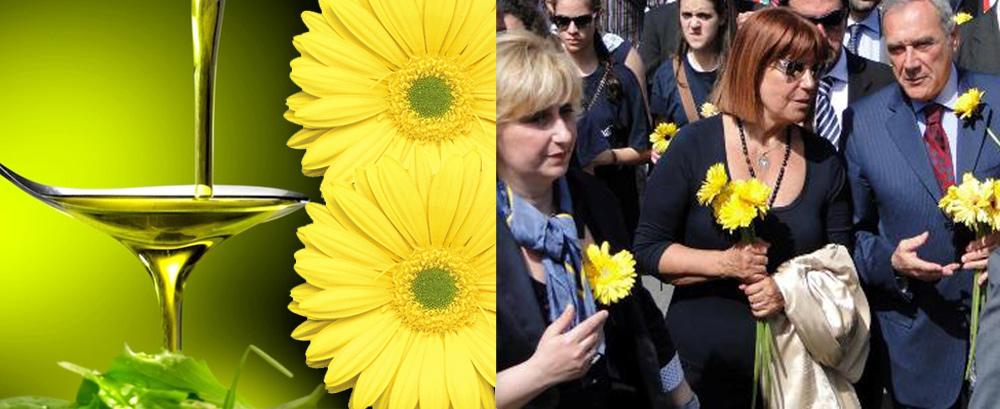 olio gerbera gialla-adriana musella-maria rosaria russo