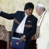 papa francesco evo morales bolivia