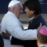 Pope Francis, Evo Morales Bolivia