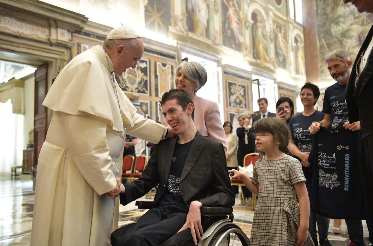 Udienza con Papa Francesco