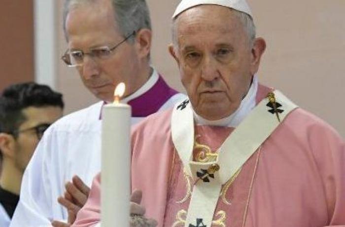 papa francesco alla comunità filippina di roma