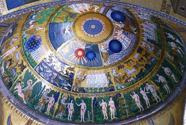 san-marco-a-venezia-cupola-genesi