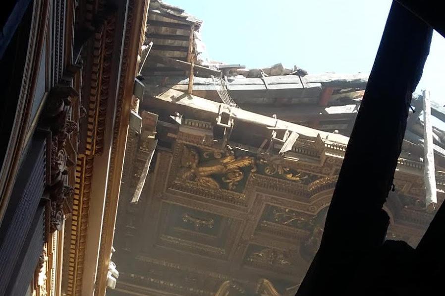 chiesa san giuseppe dei falegnami tetto crollato